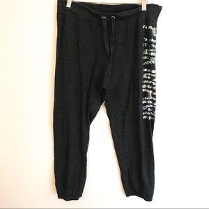 PINK Victoria's Secret Miami Sequins Sweatpants M